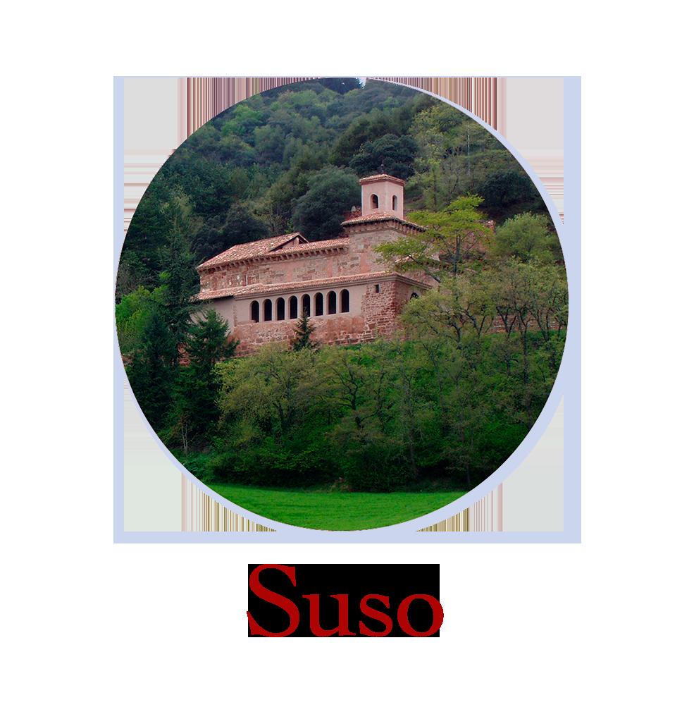 Suso, el monasterio de arriba