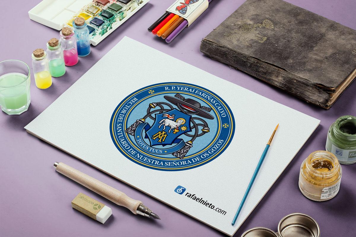 Seal. Ecclesiastical heraldry